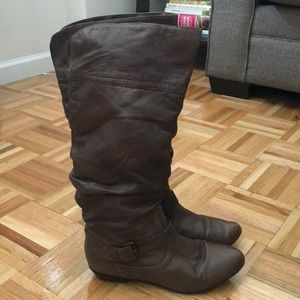 Women's Brown Casual Boots